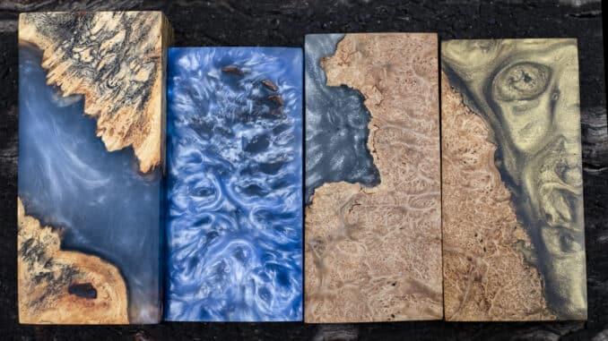 Epoxidharz und Holz ergeben eine faszinierende Verbindung